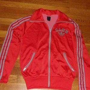 Vintage Adidas Club Trefoil  Athletic Jacket
